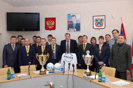 государственный университет ростовские полицейские выиграли мини-футбол сверстниками ребенок